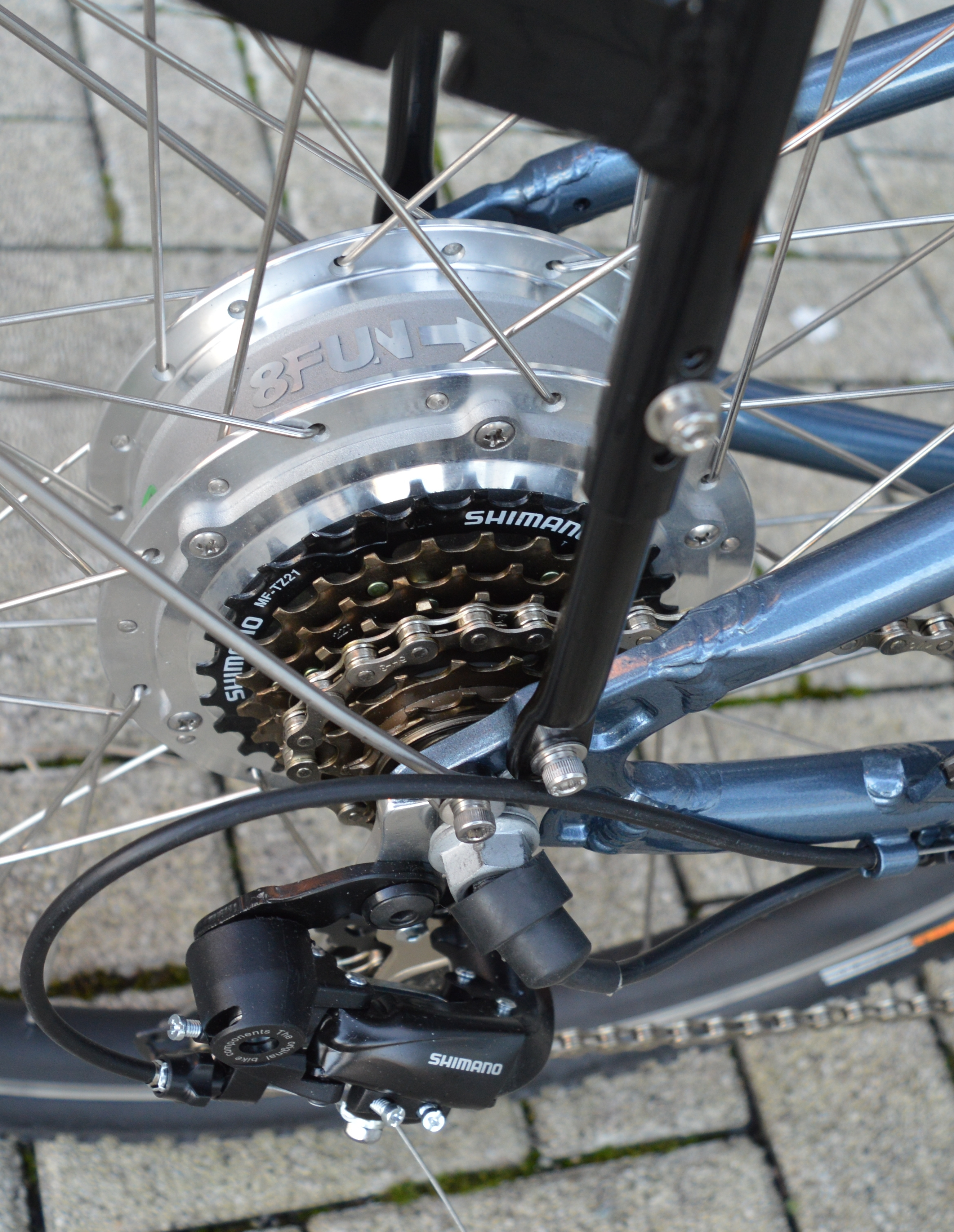 moter used in bicycle