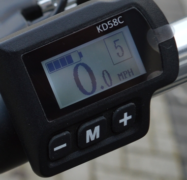 Woosh Crusa LCD display unit