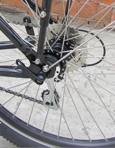 cd-rear wheel with quick release