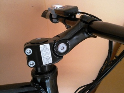 Woosh Sirocco 2 adjustable stem